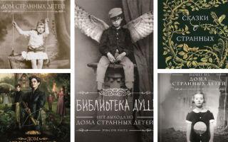 Дом странных детей: книги — все части по порядку (Ренсом Риггз)