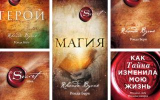 Лучшие книги Ронды Берн