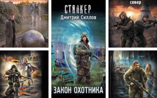 Дмитрий Силлов: хронология романов о Снайпере-сталкере