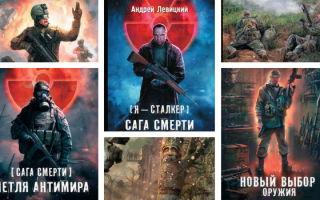 Андрей Левицкий: Сталкер — все книги серии по порядку и другие романы