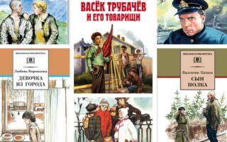 Детские книги о войне для школьников 6 – 10, 12 лет