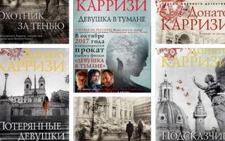 Все лучшие книги Донато Карризи