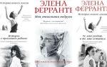 Элена Ферранте: список книг по сериям