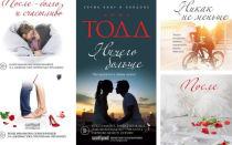 Анна Тодд: серия книг «После» по порядку, последовательность и цикл всех романов