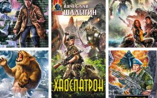 Вячеслав Шалыгин: серии книг по порядку