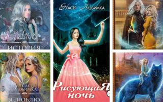 Настя Любимка: Академия сиятельных — все книги серии и другие фэнтези