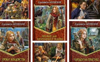 Все книги Елизаветы Шумской